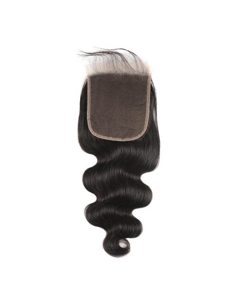 "Virgin Brazilian Remy Natural Wave 7"" x 7"" Lace Closure"