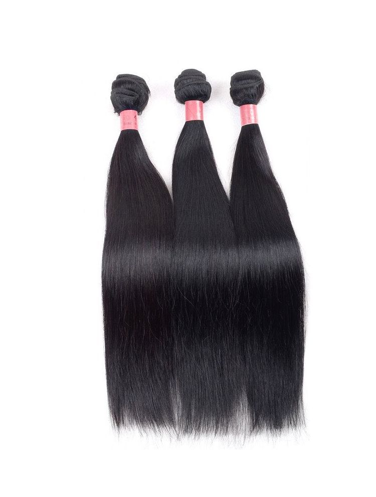Triple Threat Virgin Brazilian Remy Straight Hair (3 Bundles)