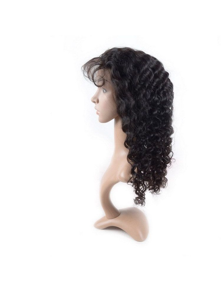Virgin Brazilian Remy Curly Full Lace Wig