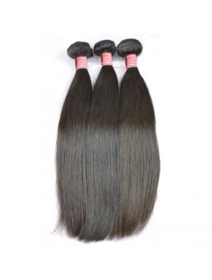 Triple Threat Virgin Indian Remy Straight Hair (3 Bundles)