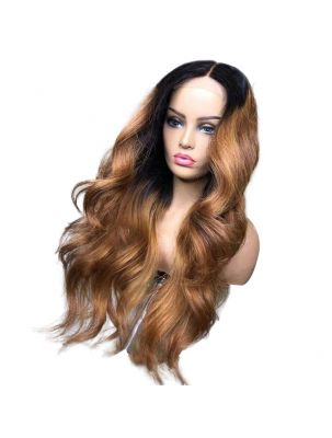 Chestnut Virgin Brazilian Straight Custom Lace Front Wig