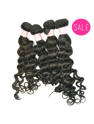 Quadruple Quarry Virgin Brazilian Remy Curly Hair (4 Bundles)