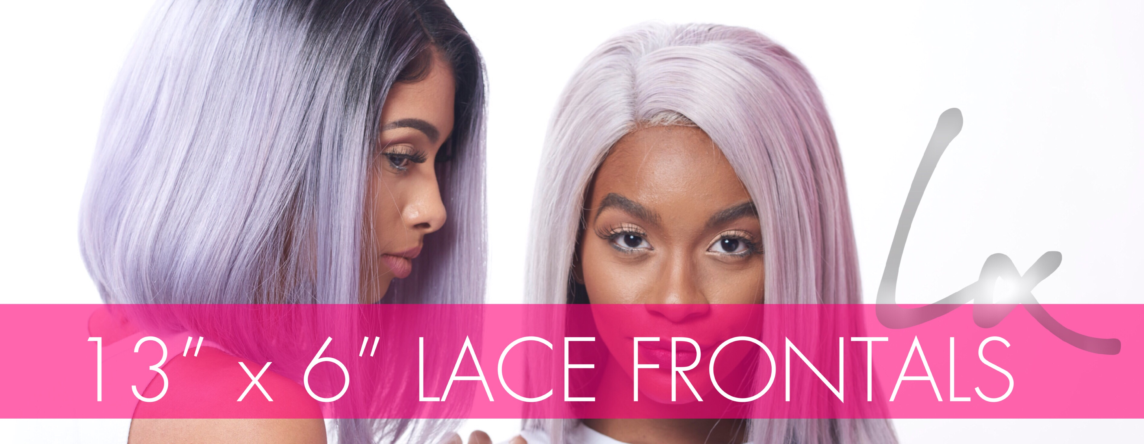 """13"""" X 6"""" Lace Frontals"""