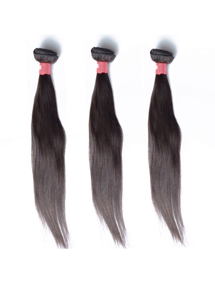 Triple Threat Virgin Malaysian Remy Straight Hair (3 Bundles)