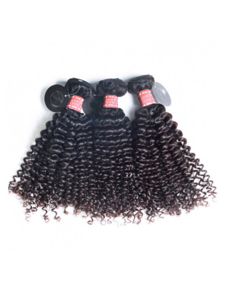 Triple Threat Virgin Mongolian Remy Tight Curly Hair (3 Bundles)