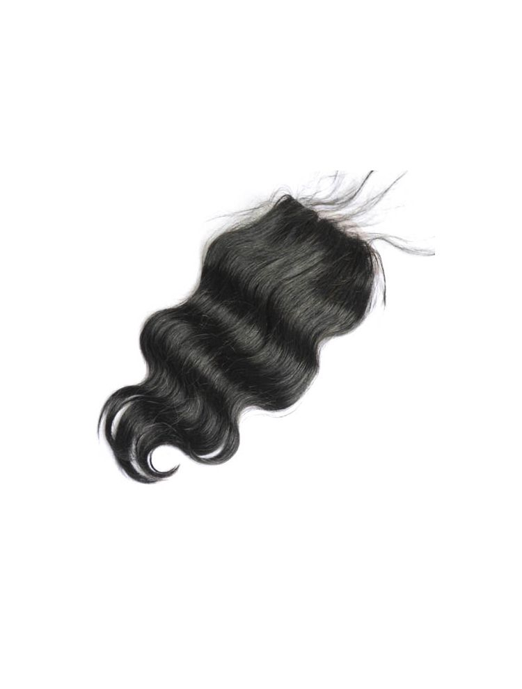 Virgin Brazilian Natural Wave Silk Base Closure
