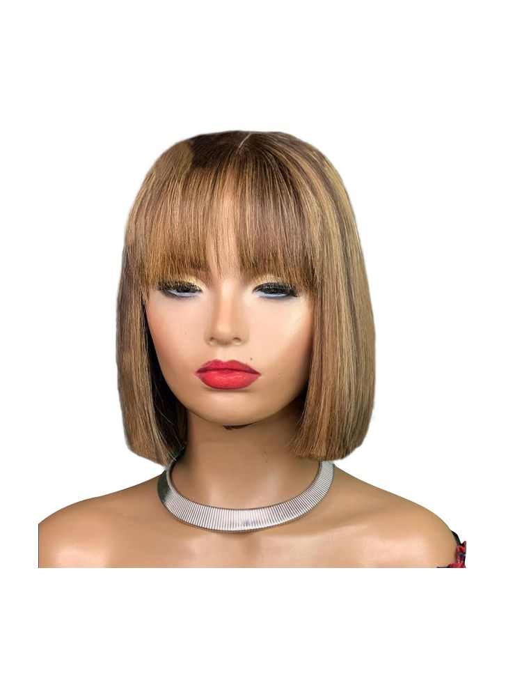 Sienna Virgin Brazilian Straight Custom Lace Front Wig