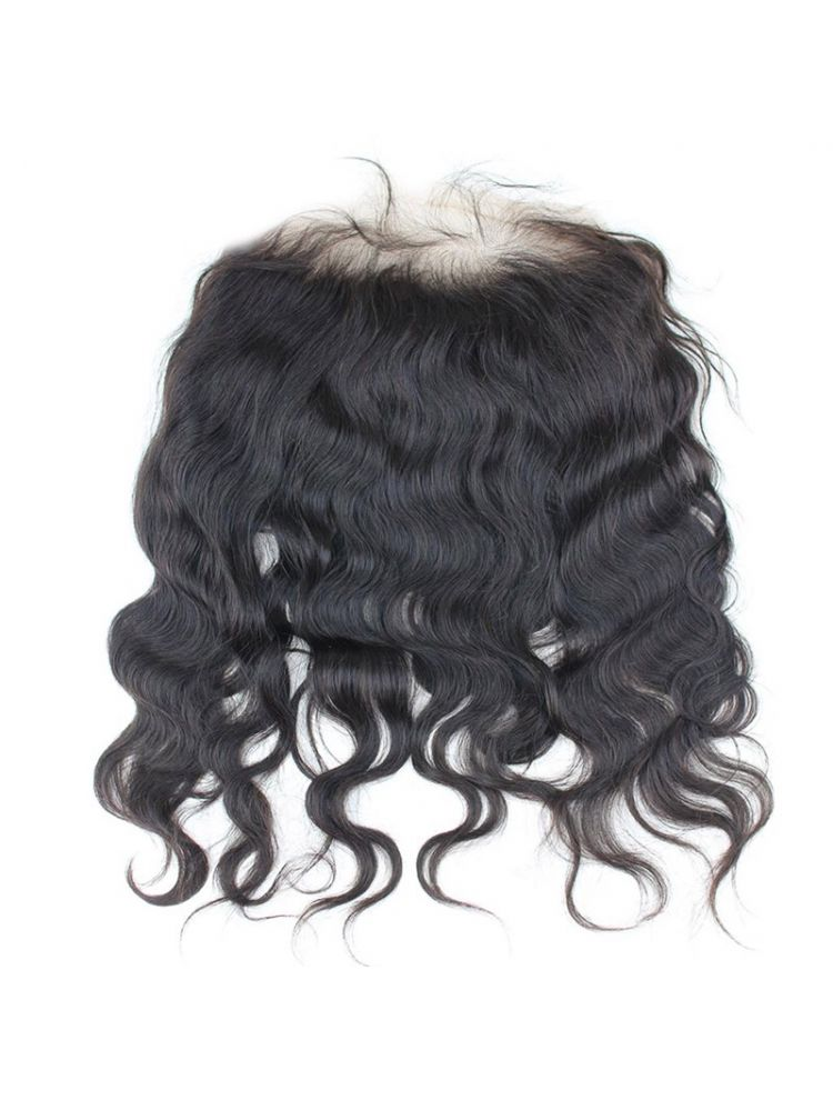 """Virgin Brazilian Remy Natural Wave 13"""" x 4"""" Lace Frontal"""
