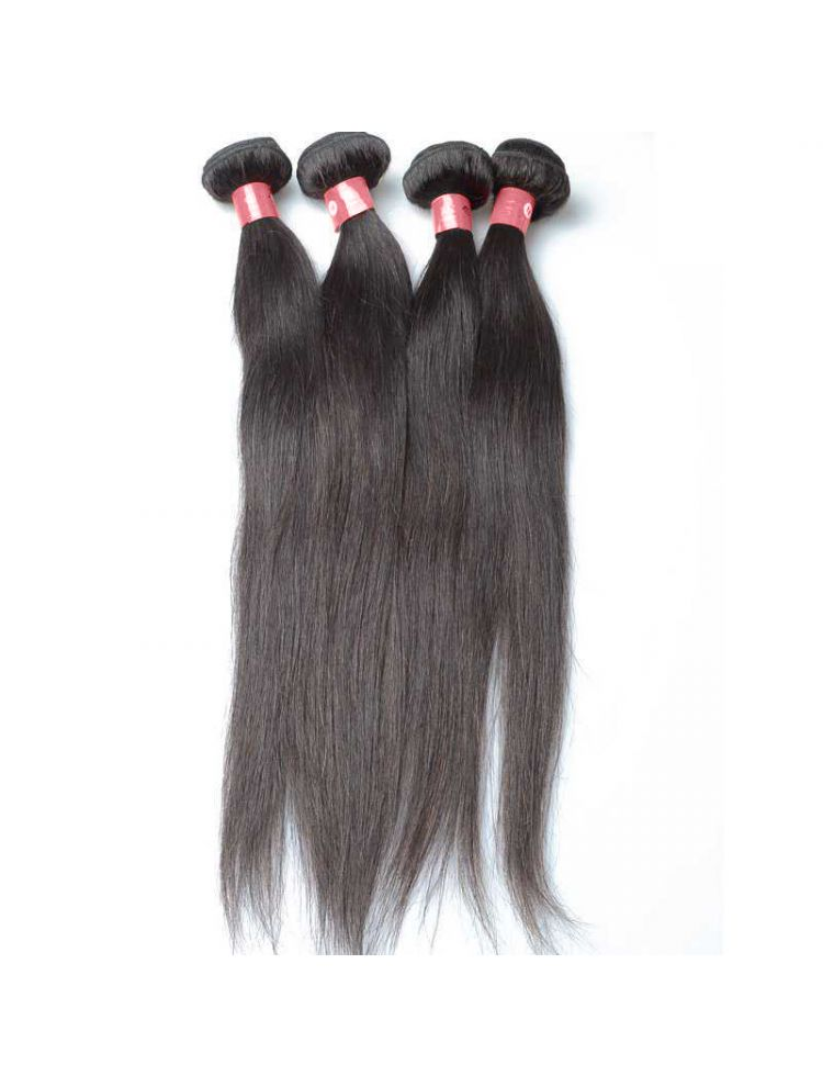 Quadruple Quarry Virgin Filipino Natural Straight Hair (4 Bundles)