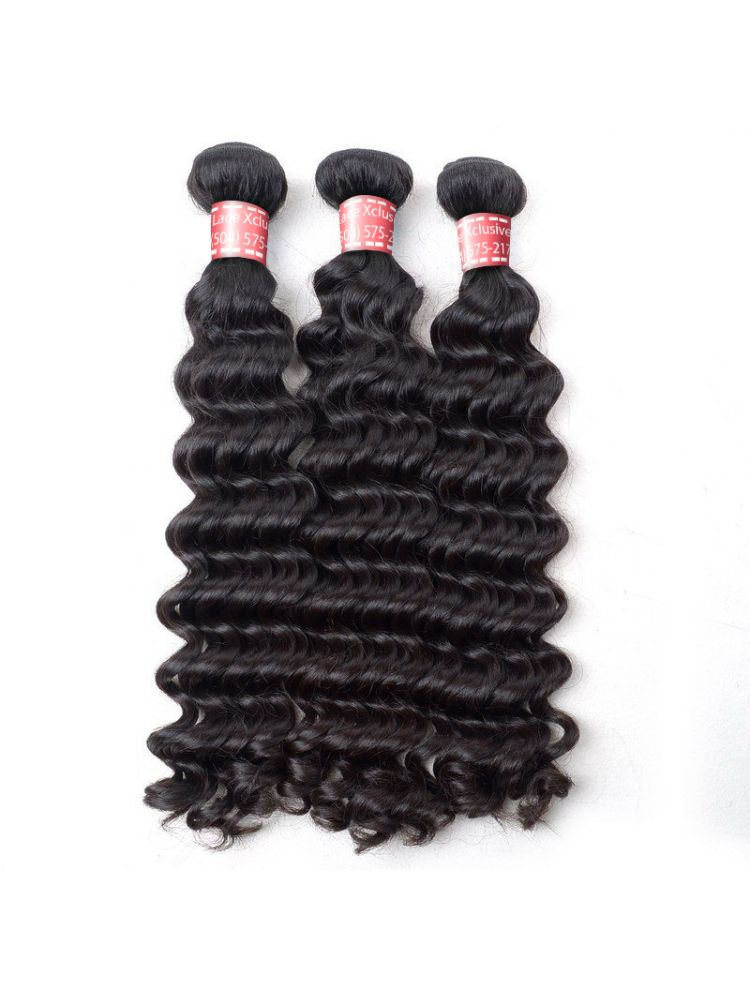 Triple Threat Virgin Indian Remy Curly Hair (3 Bundles)