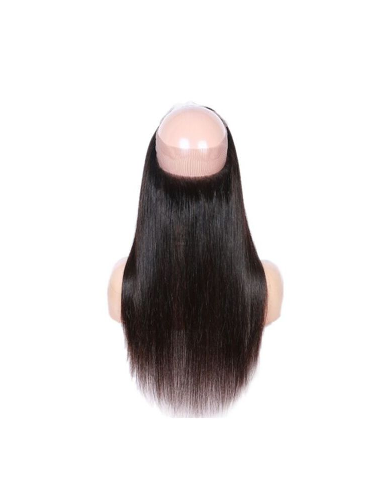 Wholesale Virgin Brazilian Remy Straight 360 Lace Frontal