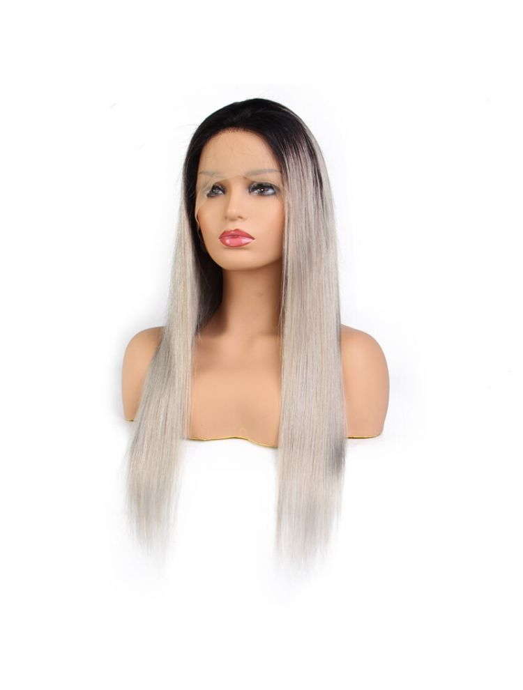 Ice Diamond Virgin Malaysian Straight Custom Lace Front Wig