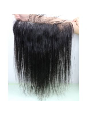 "Virgin Brazilian Remy Straight 13"" x 6"" Lace Frontal"
