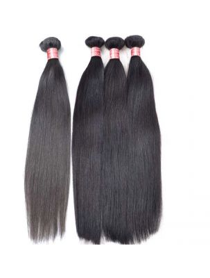 Quadruple Quarry Virgin Brazilian Remy Straight Hair (4 Bundles)