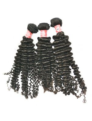 Triple Threat Virgin Malaysian Remy Curly (3 Bundles)
