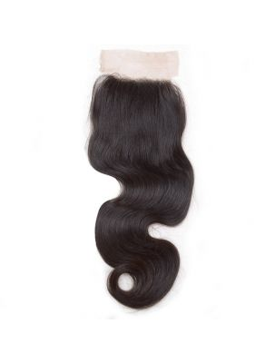 Virgin Indian Remy Natural Wave Lace Closure