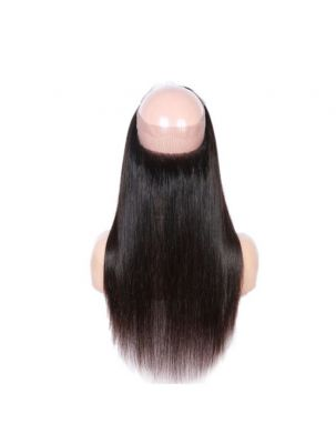 Virgin Brazilian Remy Straight 360 Lace Frontal
